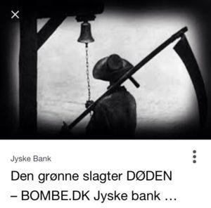 Anders Dam siger jyske bank er en ærlig bank som slet ikke lyver.