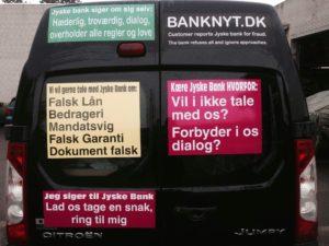 Se øverst tv jyske bank er hæderlige troværdig ærlige, men se dagbogen og bedøm