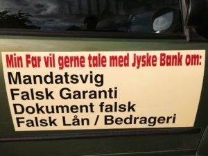 Hej jyske bank tal nu med jeres kunder, om de små ting jyske bank prøvede at skjule