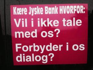 Warning against the Danish bank jyske bank, the bank is lying Do not trust this bank the is lying, even in legal relationships See more www.banknyt.dk :-( They lie in order, to better could deceive customers which association works together to succeed, It therefore seemed to be rather organized. - - Follow the case BS 99-689/2015 against Jyske Bank for fraud :-) Print billeder ud, og se på dem i rækkefølge. 23/7 2018 Spørg så jyske bank hvad banken har gang i, hvorfor banken lyver så meget. :-( :-( HVAD BETYDER 10 års. BEDRAGERI I MOD BANKENS KUNDER FOR JYSKE BANK :-) :-) HVAD BETYDER DET FOR JYSKE BANK, AT RETTEN HAR GIVET KUNDERNE RET I AT JYSNE BANK HAR GIVET DÅRLIG RÅDGIVNING OG AT JYSKE BANK HAR TILBAGEHOLDT OPLYSNINGER SOM I HEDGE SAGERNE FOR OVER 10.000 kunder I SWAP SAGERNE FOR OVER 100.000 adels kunder :-( :-( VORES SAG ER I FORHOLD LILLE OG UBETYDELIG FOR DEN KRIMINELLE JYSKE BANK :-( Men for os er det en stor sag med mange forhold, og at jyske bank er yderst udspekuleret er vi ikke i tivl om. Sagen mod jyske bank handler om Bedrageri = Svig :-( Bedrageri som både Advokater Koncernledelsen og lederen Anders Dam ved alt om Og har kendt til mindst siden maj 2016 Og som ledelsen fuldt ud støtter at banken fortsætter udsætter deres kunder for. - Med mindre jyske bank har en anden, forklaring på at jyske bank ægter at holde op med at hæve renter af lån 4.328.000 som ikke findes. Og at jyske bank vil fortælle hvorfor banken nægter at udlelever nogle bilag. Og hvorfor jyske bank nægter at bevise, at der er aftalt en ny rente bytte 16-06-2008 Der må være optagelser, jyske bank optager alle samtaler Og hvorfor at jyske bank nægter at vise hvor de 4.328.000 kr er blevet af Nu banken siger vi har lånt dem - Tænker næppe vi er de enste som jyske bank bedrager. Det virker ret organiseret på den måden de alle arbejder sammen på. Og at banken så satser på at dem som banken bedrager, der opdager det, giver op og lader banken bedrage det som jyske bank nu er bedst til. - M