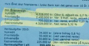 Falsk garanti fra jyske bank, jyske bank lyver