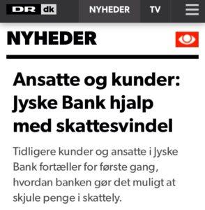 Jyske bank hjalp med skattesnyd DR