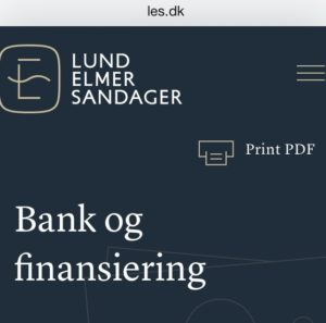 Ville du kontakte Advokaterne i Lund Elmer Sandager, - hvis du viste at advokater fra Lund Elmer Sandager lyver i retsforhold, - for at dække over at jyske bank lyver og laver svig mod kunder - Tænker ikke hvis du er en kriminel forbryder - Men hvis du har en anstændig bank virksomhed - Og skulle bruge en advokat i din bank - Lund Elmer Sandager har før gået over stregen, og været advokat for kunder i pensam pension - selv om der var konflikt med det forhold at PFA pensam var Lund Elmer Sandagers kunde