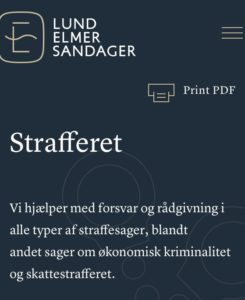 Jyske Banks advokater i Lund Elmer Sandager nægter at svare på kritiske spørgsmål om jyske Banks ærlighed og troværdighed