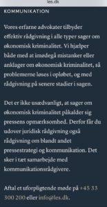 En tilsyneladende beskidt foretning som lyver for klienter i retsforhold - Har Lund Elmer Sandager advokater løjet falsk lån som ægte i retsforhold - Har Lund Elmer Sandager tilbage holdt beviser, som er afgørende i retssag, for at skuffe i retsforhold ? - Lund Elmer Sandager blokere kunder på facesbook - således advokaterne tror spørgsmål til Lund Elmer Sandager om god advokat skik forsvinder. - Der kommer flere spørgsmål på listen her Klik