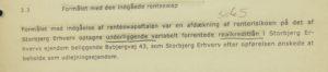 renteswap er for at afdække renterisikoen på det optagen underliggende realkredit lån skal vi ikke lige tage den igen Anders