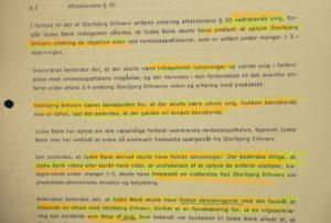 Jyske Bank bestrider 10-09-2015 at have fortiet oplysninger Jyske bank bestrider at have tilbageholdt oplysninger SKAL VI TAGE DEN IGEN og tale om det vi opdager i 2016 Anders Dam