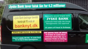Just ask the Danish bank, jyske bank Why the bank not doe admit Fraud And why the bank not start to apologize all crimes. www.banknyt.dk - What would you say to your bank if they were snatched millions from your account? For alleged interest rate, on a loan, since 1 January 2009, but there is no loan taken. - And you discovered that the bank has lied, exploited That you were ill after a stroke, was was not a problem for jyske bank to deceive you, and for the last 10 years The bank, refuses to quit cheating. -- -- When the Danish banks is cynical and fully aware, about their criminal activities, but nevertheless continue crimes as fraud against the bank's customers. That the Danish customers, do not can trust their own bank Is becoming a huge problem for Denmark, and the Danish bank customers. - And can infect Denmark's reputation, as no-one said that the want to stop the banks many violations of laws and regulations. Ranging from money laundering to the more coarse crimes such as documentary fraud or just fraud - Society can hardly be a major problem for the confidence of the Danish bank's The Danish bank (Jyske bank) Jutland bank has before got a big fine, for money laundering. Money laundering, is a crime against the state, and against all taxpayers in the country, the crime takes place in. - But this does not stop the Danish jyske bank, as now deliberately continues a fraud business. With CEO Anders Dam and Group Management full acept. - Jyske bank is most well known, as the bank is probably good to give bad advice, to earn money to the bank itself. Though the Danish bank is already well known, for providing poor advice that the bank as always hopes for the bad advice is not detected until after 3 years. So the bank with the law can avoid paying compensation with the law in hand. -- -- - - #JYSKE BANK BLEV OPDAGET / TAGET I AT LAVE #MANDATSVIG #BEDRAGERI #DOKUMENTFALSK #UDNYTTELSE #SVIG #FALSK #Bank #AnderChristianDam #Financial #News #Press #Share #Pol #Recommendation #Sale #Firesale #AndersDam #JyskeBank #ATP #PFA #MortenUlrikGade #PhilipBaruch #LES #BirgitBushThuesen #LundElmerSandager #Nykredit #MetteEgholmNielsen #Loan #Fraud #CasperDamOlsen #NicolaiHansen #AnetteKirkeby #SørenWoergaaed #Gangcrimes #Crimes #Koncernledelse #jyskebank #Koncernbestyrelsen #SvenBuhrkall #KurtBligaardPedersen #RinaAsmussen #PhilipBaruch #JensABorup #KeldNorup #ChristinaLykkeMunk #HaggaiKunisch #MarianneLillevang #Koncerndirektionen #AndersDam #LeifFLarsen #NielsErikJakobsen #PerSkovhus #PeterSchleidt - -IMG_20180717_202805120