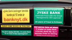 Just ask the Danish bank, jyske bank Why the bank not doe admit Fraud And why the bank not start to apologize all crimes. www.banknyt.dk - What would you say to your bank if they were snatched millions from your account? For alleged interest rate, on a loan, since 1 January 2009, but there is no loan taken. - And you discovered that the bank has lied, exploited That you were ill after a stroke, was was not a problem for jyske bank to deceive you, and for the last 10 years The bank, refuses to quit cheating. -- -- When the Danish banks is cynical and fully aware, about their criminal activities, but nevertheless continue crimes as fraud against the bank's customers. That the Danish customers, do not can trust their own bank Is becoming a huge problem for Denmark, and the Danish bank customers. - And can infect Denmark's reputation, as no-one said that the want to stop the banks many violations of laws and regulations. Ranging from money laundering to the more coarse crimes such as documentary fraud or just fraud - Society can hardly be a major problem for the confidence of the Danish bank's The Danish bank (Jyske bank) Jutland bank has before got a big fine, for money laundering. Money laundering, is a crime against the state, and against all taxpayers in the country, the crime takes place in. - But this does not stop the Danish jyske bank, as now deliberately continues a fraud business. With CEO Anders Dam and Group Management full acept. - Jyske bank is most well known, as the bank is probably good to give bad advice, to earn money to the bank itself. Though the Danish bank is already well known, for providing poor advice that the bank as always hopes for the bad advice is not detected until after 3 years. So the bank with the law can avoid paying compensation with the law in hand. -- -- - - #JYSKE BANK BLEV OPDAGET / TAGET I AT LAVE #MANDATSVIG #BEDRAGERI #DOKUMENTFALSK #UDNYTTELSE #SVIG #FALSK #Bank #AnderChristianDam #Financial #News #Press #Share #Pol #Recommendation #Sale #Firesale #AndersDam #JyskeBank #ATP #PFA #MortenUlrikGade #PhilipBaruch #LES #BirgitBushThuesen #LundElmerSandager #Nykredit #MetteEgholmNielsen #Loan #Fraud #CasperDamOlsen #NicolaiHansen #AnetteKirkeby #S\'f8renWoergaaed #Gangcrimes #Crimes #Koncernledelse #jyskebank #Koncernbestyrelsen #SvenBuhrkall #KurtBligaardPedersen #RinaAsmussen #PhilipBaruch #JensABorup #KeldNorup #ChristinaLykkeMunk #HaggaiKunisch #MarianneLillevang #Koncerndirektionen #AndersDam #LeifFLarsen #NielsErikJakobsen #PerSkovhus #PeterSchleidt - -IMG_20180721_052918239
