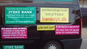 Just ask the Danish bank, jyske bank Why the bank not doe admit Fraud And why the bank not start to apologize all crimes. www.banknyt.dk - What would you say to your bank if they were snatched millions from your account? For alleged interest rate, on a loan, since 1 January 2009, but there is no loan taken. - And you discovered that the bank has lied, exploited That you were ill after a stroke, was was not a problem for jyske bank to deceive you, and for the last 10 years The bank, refuses to quit cheating. -- -- When the Danish banks is cynical and fully aware, about their criminal activities, but nevertheless continue crimes as fraud against the bank's customers. That the Danish customers, do not can trust their own bank Is becoming a huge problem for Denmark, and the Danish bank customers. - And can infect Denmark's reputation, as no-one said that the want to stop the banks many violations of laws and regulations. Ranging from money laundering to the more coarse crimes such as documentary fraud or just fraud - Society can hardly be a major problem for the confidence of the Danish bank's The Danish bank (Jyske bank) Jutland bank has before got a big fine, for money laundering. Money laundering, is a crime against the state, and against all taxpayers in the country, the crime takes place in. - But this does not stop the Danish jyske bank, as now deliberately continues a fraud business. With CEO Anders Dam and Group Management full acept. - Jyske bank is most well known, as the bank is probably good to give bad advice, to earn money to the bank itself. Though the Danish bank is already well known, for providing poor advice that the bank as always hopes for the bad advice is not detected until after 3 years. So the bank with the law can avoid paying compensation with the law in hand. -- -- - - #JYSKE BANK BLEV OPDAGET / TAGET I AT LAVE #MANDATSVIG #BEDRAGERI #DOKUMENTFALSK #UDNYTTELSE #SVIG #FALSK #Bank #AnderChristianDam #Financial #News #Press #Share #Pol #Recommendation #Sale #Firesale #AndersDam #JyskeBank #ATP #PFA #MortenUlrikGade #PhilipBaruch #LES #BirgitBushThuesen #LundElmerSandager #Nykredit #MetteEgholmNielsen #Loan #Fraud #CasperDamOlsen #NicolaiHansen #AnetteKirkeby #SørenWoergaaed #Gangcrimes #Crimes #Koncernledelse #jyskebank #Koncernbestyrelsen #SvenBuhrkall #KurtBligaardPedersen #RinaAsmussen #PhilipBaruch #JensABorup #KeldNorup #ChristinaLykkeMunk #HaggaiKunisch #MarianneLillevang #Koncerndirektionen #AndersDam #LeifFLarsen #NielsErikJakobsen #PerSkovhus #PeterSchleidt - -IMG_20180721_052928674