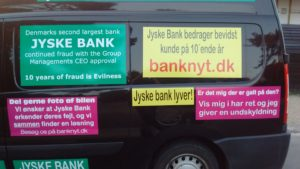 Just ask the Danish bank, jyske bank Why the bank not doe admit Fraud And why the bank not start to apologize all crimes. www.banknyt.dk - What would you say to your bank if they were snatched millions from your account? For alleged interest rate, on a loan, since 1 January 2009, but there is no loan taken. - And you discovered that the bank has lied, exploited That you were ill after a stroke, was was not a problem for jyske bank to deceive you, and for the last 10 years The bank, refuses to quit cheating. -- -- When the Danish banks is cynical and fully aware, about their criminal activities, but nevertheless continue crimes as fraud against the bank's customers. That the Danish customers, do not can trust their own bank Is becoming a huge problem for Denmark, and the Danish bank customers. - And can infect Denmark's reputation, as no-one said that the want to stop the banks many violations of laws and regulations. Ranging from money laundering to the more coarse crimes such as documentary fraud or just fraud - Society can hardly be a major problem for the confidence of the Danish bank's The Danish bank (Jyske bank) Jutland bank has before got a big fine, for money laundering. Money laundering, is a crime against the state, and against all taxpayers in the country, the crime takes place in. - But this does not stop the Danish jyske bank, as now deliberately continues a fraud business. With CEO Anders Dam and Group Management full acept. - Jyske bank is most well known, as the bank is probably good to give bad advice, to earn money to the bank itself. Though the Danish bank is already well known, for providing poor advice that the bank as always hopes for the bad advice is not detected until after 3 years. So the bank with the law can avoid paying compensation with the law in hand. -- -- - - #JYSKE BANK BLEV OPDAGET / TAGET I AT LAVE #MANDATSVIG #BEDRAGERI #DOKUMENTFALSK #UDNYTTELSE #SVIG #FALSK #Bank #AnderChristianDam #Financial #News #Press #Share #Pol #Recommendation #Sale #Firesale #AndersDam #JyskeBank #ATP #PFA #MortenUlrikGade #PhilipBaruch #LES #BirgitBushThuesen #LundElmerSandager #Nykredit #MetteEgholmNielsen #Loan #Fraud #CasperDamOlsen #NicolaiHansen #AnetteKirkeby #SørenWoergaaed #Gangcrimes #Crimes #Koncernledelse #jyskebank #Koncernbestyrelsen #SvenBuhrkall #KurtBligaardPedersen #RinaAsmussen #PhilipBaruch #JensABorup #KeldNorup #ChristinaLykkeMunk #HaggaiKunisch #MarianneLillevang #Koncerndirektionen #AndersDam #LeifFLarsen #NielsErikJakobsen #PerSkovhus #PeterSchleidt - -IMG_20180721_052931152