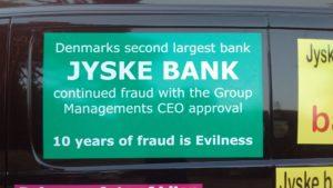HVORDAN KAN VI ELLERS RÅBE JYSKE BANK OP. En bank der nægter dialog, selv om banken påstår at banken, både retter fejl og undskylder hvis banken har lavet noget galt, men undskylder helst ikke. Bør jyske bank ikke tage sig sammen og vise os de 4.328.000 kr. hvor er disse penge. hvordan er de fremkommet hvilket obglationer er der solgt for at kunne udbetale provenuet
