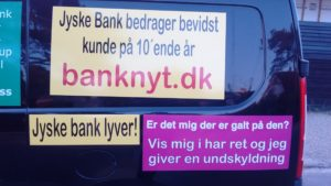 Just ask the Danish bank, jyske bank Why the bank not doe admit Fraud And why the bank not start to apologize all crimes. www.banknyt.dk - What would you say to your bank if they were snatched millions from your account? For alleged interest rate, on a loan, since 1 January 2009, but there is no loan taken. - And you discovered that the bank has lied, exploited That you were ill after a stroke, was was not a problem for jyske bank to deceive you, and for the last 10 years The bank, refuses to quit cheating. -- -- When the Danish banks is cynical and fully aware, about their criminal activities, but nevertheless continue crimes as fraud against the bank's customers. That the Danish customers, do not can trust their own bank Is becoming a huge problem for Denmark, and the Danish bank customers. - And can infect Denmark's reputation, as no-one said that the want to stop the banks many violations of laws and regulations. Ranging from money laundering to the more coarse crimes such as documentary fraud or just fraud - Society can hardly be a major problem for the confidence of the Danish bank's The Danish bank (Jyske bank) Jutland bank has before got a big fine, for money laundering. Money laundering, is a crime against the state, and against all taxpayers in the country, the crime takes place in. - But this does not stop the Danish jyske bank, as now deliberately continues a fraud business. With CEO Anders Dam and Group Management full acept. - Jyske bank is most well known, as the bank is probably good to give bad advice, to earn money to the bank itself. Though the Danish bank is already well known, for providing poor advice that the bank as always hopes for the bad advice is not detected until after 3 years. So the bank with the law can avoid paying compensation with the law in hand. -- -- - - #JYSKE BANK BLEV OPDAGET / TAGET I AT LAVE #MANDATSVIG #BEDRAGERI #DOKUMENTFALSK #UDNYTTELSE #SVIG #FALSK #Bank #AnderChristianDam #Financial #News #Press #Share #Pol #Recommendation #Sale #Firesale #AndersDam #JyskeBank #ATP #PFA #MortenUlrikGade #PhilipBaruch #LES #BirgitBushThuesen #LundElmerSandager #Nykredit #MetteEgholmNielsen #Loan #Fraud #CasperDamOlsen #NicolaiHansen #AnetteKirkeby #SørenWoergaaed #Gangcrimes #Crimes #Koncernledelse #jyskebank #Koncernbestyrelsen #SvenBuhrkall #KurtBligaardPedersen #RinaAsmussen #PhilipBaruch #JensABorup #KeldNorup #ChristinaLykkeMunk #HaggaiKunisch #MarianneLillevang #Koncerndirektionen #AndersDam #LeifFLarsen #NielsErikJakobsen #PerSkovhus #PeterSchleidt - -IMG_20180721_052949663