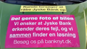 Just ask the Danish bank, jyske bank Why the bank not doe admit Fraud And why the bank not start to apologize all crimes. www.banknyt.dk - What would you say to your bank if they were snatched millions from your account? For alleged interest rate, on a loan, since 1 January 2009, but there is no loan taken. - And you discovered that the bank has lied, exploited That you were ill after a stroke, was was not a problem for jyske bank to deceive you, and for the last 10 years The bank, refuses to quit cheating. -- -- When the Danish banks is cynical and fully aware, about their criminal activities, but nevertheless continue crimes as fraud against the bank's customers. That the Danish customers, do not can trust their own bank Is becoming a huge problem for Denmark, and the Danish bank customers. - And can infect Denmark's reputation, as no-one said that the want to stop the banks many violations of laws and regulations. Ranging from money laundering to the more coarse crimes such as documentary fraud or just fraud - Society can hardly be a major problem for the confidence of the Danish bank's The Danish bank (Jyske bank) Jutland bank has before got a big fine, for money laundering. Money laundering, is a crime against the state, and against all taxpayers in the country, the crime takes place in. - But this does not stop the Danish jyske bank, as now deliberately continues a fraud business. With CEO Anders Dam and Group Management full acept. - Jyske bank is most well known, as the bank is probably good to give bad advice, to earn money to the bank itself. Though the Danish bank is already well known, for providing poor advice that the bank as always hopes for the bad advice is not detected until after 3 years. So the bank with the law can avoid paying compensation with the law in hand. -- -- - - #JYSKE BANK BLEV OPDAGET / TAGET I AT LAVE #MANDATSVIG #BEDRAGERI #DOKUMENTFALSK #UDNYTTELSE #SVIG #FALSK #Bank #AnderChristianDam #Financial #News #Press #Share #Pol #Recommendation #Sale #Firesale #AndersDam #JyskeBank #ATP #PFA #MortenUlrikGade #PhilipBaruch #LES #BirgitBushThuesen #LundElmerSandager #Nykredit #MetteEgholmNielsen #Loan #Fraud #CasperDamOlsen #NicolaiHansen #AnetteKirkeby #SørenWoergaaed #Gangcrimes #Crimes #Koncernledelse #jyskebank #Koncernbestyrelsen #SvenBuhrkall #KurtBligaardPedersen #RinaAsmussen #PhilipBaruch #JensABorup #KeldNorup #ChristinaLykkeMunk #HaggaiKunisch #MarianneLillevang #Koncerndirektionen #AndersDam #LeifFLarsen #NielsErikJakobsen #PerSkovhus #PeterSchleidt - -IMG_20180721_055540312_HDR