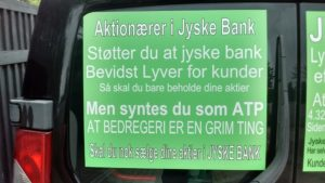 Denmark's perhaps biggest banking scandal during escalation.  New Danish bank scandal under investigation, by the customer himself, while other lawyers and banks just cover over the small matter.  And this time it's not about money laundering, which the Danish banks are already known for.  This time it is a false and fraud matter with Denmark's second largest bank Jyske Bank.  In this case the danish lawyers Lundgrens are deeply involved, in that the client's, allegation of fraud and document false against Jyske Bank, has not been presented to the court, before the client himself had to present evidence and allegations to the court, at October 28.  And why the Jyske Bank fraud, against their small customer has not yet been stopped, after 11 years of fraud.  What do Lundgrens think about our allegations, and evidence against Jyske bank about the fraud chase.  Dan Terkildsen said August 13 that the Board of Jyske Bank was not guilty of anything.  Lundgrens have not one comment of our claims.   ? That is very strange ?  WHY ?. One month ago, after being discovered at Lundgrens, is working for Jyske bank, and has worked for the defendant Jyskebank, at least since April 2018   And Dan Terkelsen let their client, believe that Lundgrens was their lawyer, but at the same time, Lundgren's lawyers also received a million fees to work for Jyske Bank.  It seems most likely that Jyske bank has bribed Lundgrens, to meet up in court, without submitting the client's claims against Jyske Bank, just to lose the case.  Would you like to tell the group management CEO Anders Dam, that we do not want to be deceived.  The danish power bank jyskebank Sven Buhrkall  Kurt Bligaard Pedersen  Rina Asmussen  Philip Baruch  Jens A Borup  Keld Norup  Christina Lykke Munk  Haggai Kunisch  Marianne Lillevang Anders Dam  Leif Larsen  Niels Erik Jakobsen Per Skovhus  Peter Schleidt  We just want to meet, with the President Anders Christian Dam, and as adults talk together, because this is not the way