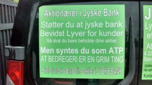 Inden du vælger jyske bank som en du kan stole på, så læs om hvordan banken laver BEDRAGRI imod lille virksomhed her www.banknyt.dk www.tyv.dk :-) Ejeren af virksomheden gør klar til åben krig imod den bedrageriske Danske Bank jyske bank. Som nægte at stoppe bedrageri, men istedet fortsætter bankens bedrageri mod kunde på 10'ende år. :-( Siden april 2016 har vi anmodet Koncernledelsen i jyske bank bevise at vi har lånt 4.328.000 kr. Et lån som jyske bank hævder findes og banken derfor hæver renter for. - Ingen i jyske bank vil svare eller bevise noget, men jyske bank hæver Alligevel renter af et lån som banken nægter at bevise er optaget :-) :-) Kanonerne er kørt i stilling mod svindel banken jyske bank vores advokat er oplyst at vi går efter ANDERS DAM, som ansvarlig for svindlen. Men naturligvis går vi efter den samlede bestyrelse i jyske bank for deres medvirken til bedrageri imod den lille erhvervs virksomhed storbjerg erhverv ApS :-) :-) Bestyrelsen Koncernledelsen jyske bank kan jo svare, frem for at gemme sig bag de løgnagtige Lund Elmer Sandager advokater. https://facebook.com/jyske.bank.bedrager.kunde/photos/a.1160375010713315/1885117438239065/?type=3&source=54&ref=bookmarks Har ikke underskrævet og returneret nogle de anmodet fremsendte bilag - Hvis Jyske Banks ledelse mener de er sikker på ikke at de ikke medvirker til svig så underskriv det som er sendt 07-08 & 22-08-2018 https://facebook.com/jyske.bank.bedrager.kunde/photos/a.1160375010713315/1885117464905729/?type=3&source=54&ref=bookmarks - Eller dette her mulighed 1. Eller 2. https://facebook.com/JyskeBank.dk/photos/a.1856138271088299/1856139644421495/?type=3&source=54&ref=page_internal Brevet kan læses her https://facebook.com/pg/JyskeBank.dk/photos/?tab=album&album_id=1856138271088299&ref=page_internal - Siderne er også lagt ind her og der http://nyadvokat.dk/06-09-2018-imens-vi-venter-at-vores-advokat-siger-jo-lad-os-faa-en-dom-jyske-bank-vil-ikke-selv-holde-op-med-at-lave-svig-raaber-vi-fortsat-o